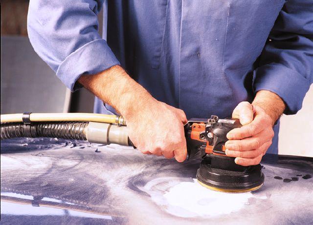szlifierka oscylacyjna do lakieru samochodowego